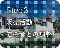 Step3 販売活動・債権者との調整